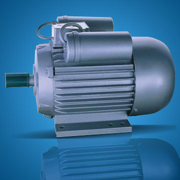 Electric motors induction motors and flange mounted for Large single phase motors
